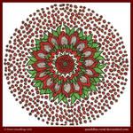 Red Beauty Mandala