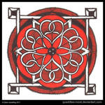 Under the Red Sky Mandala
