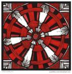 Red Wheel Mandala