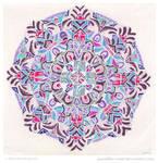 Winter Dreams Mandala