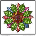 Sun Petal Collab Collab Mandala ruthcouldbe