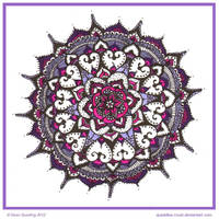 Playtime Mandala Collab koko0117 by Quaddles-Roost