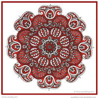 Jester Mandala Collab kathrens by Quaddles-Roost