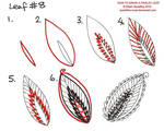 How to draw Paisley Leaf 08