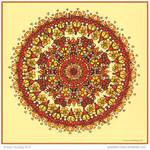 Summer Time Mandala Collab