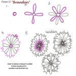 How to draw Paisley Flower 21 Brandon