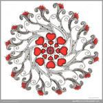 Lovey Dovey Mandala