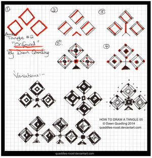 How to Draw Tangle 02 Orford quaddles-roost