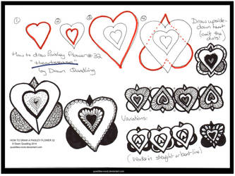 How 2 Draw Flower 32 Heartsease quaddles-roost