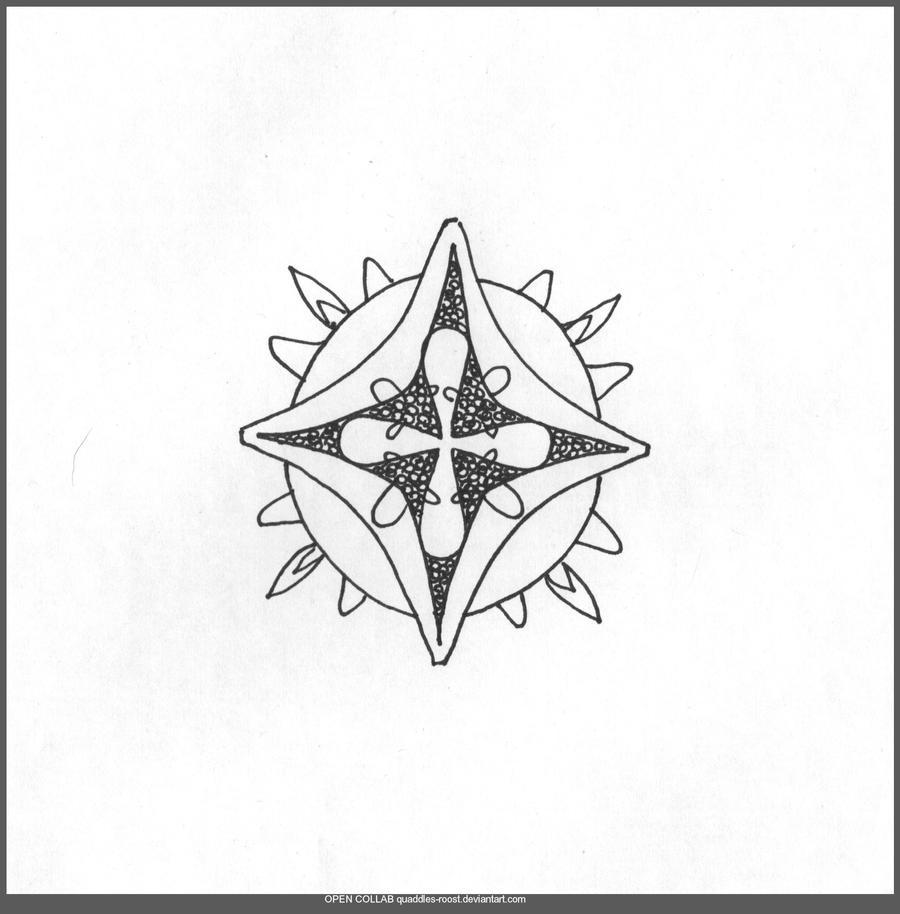 MANDALA LINEART By Quaddles Roost On DeviantArt Unfurling Mandala Open Collab D72yh60