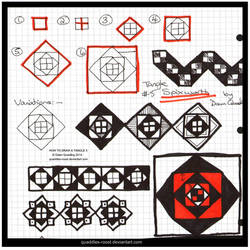How to Draw Tangle 05 Spixworth quaddles-roost