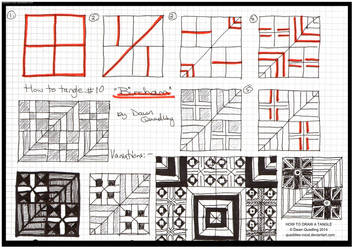 How to Draw Tangle 10 Bircham quaddles-roost