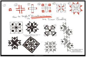 How 2 Draw Tangle 14 Brettenham quaddles-roost