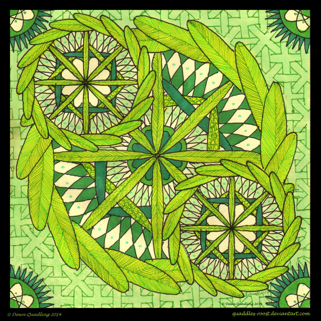 Fresh Feeling Mandala By Quaddles Roost On DeviantArt