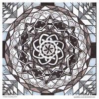 Fade To Black Mandala