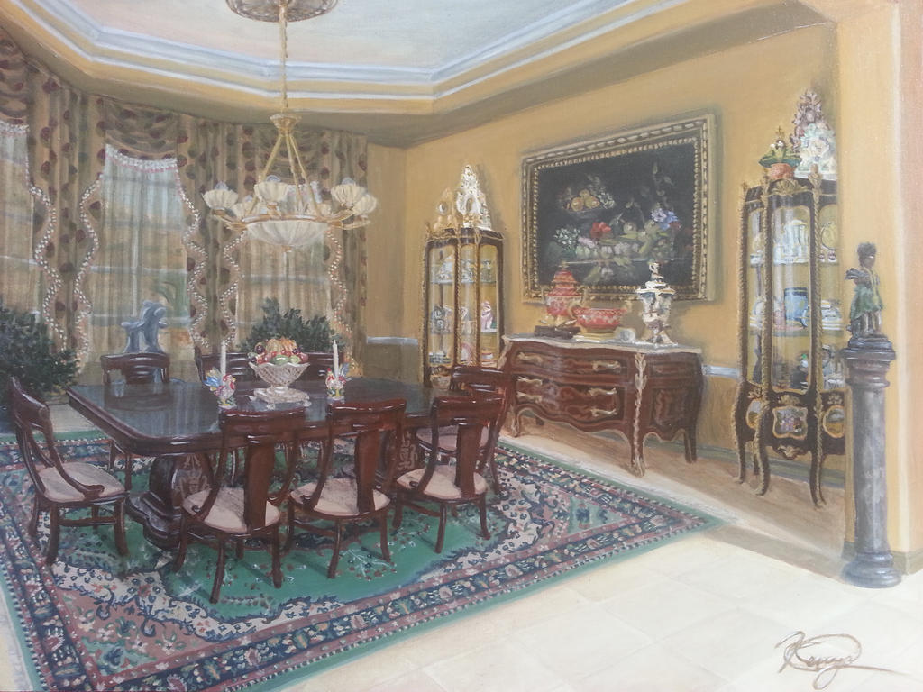 paintings for dining room