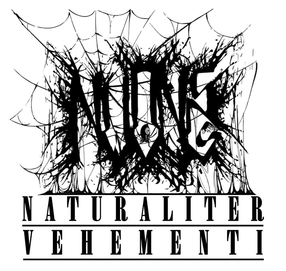 N.V.One: Naturally Violent (Black Metal Logo) by MrLogikal