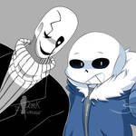COLLAB - Sans And Gaster