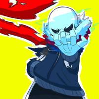 Do you think u can defeat me? Kiddo? by SplashJC