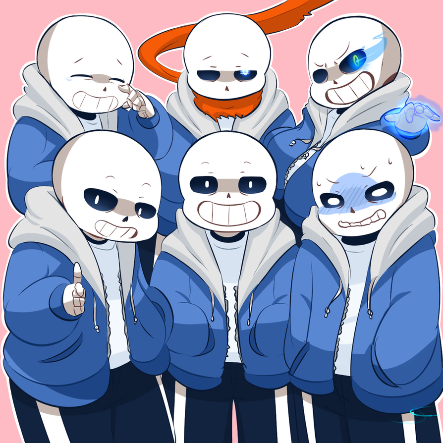 SANS SQUAD by Caguiat233