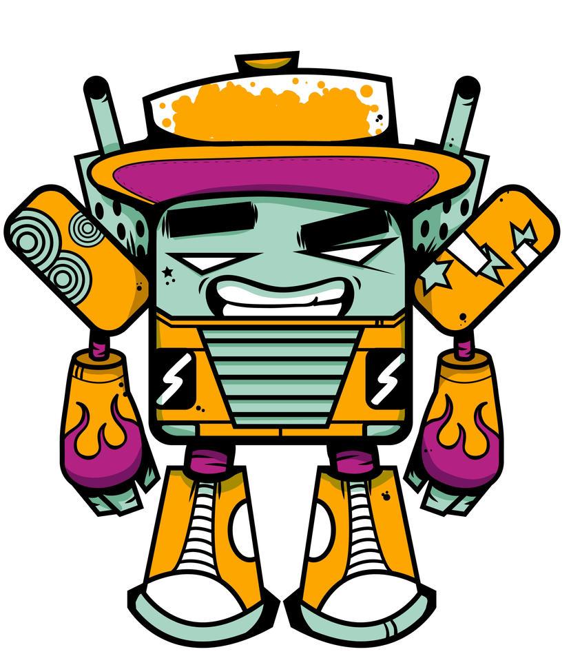 Robot Guy by BrentBlack
