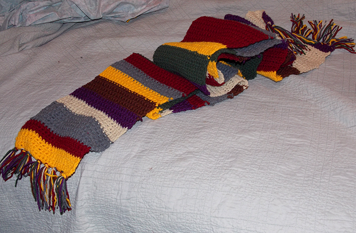 4 Doctor Who Scarf Knitting Pattern The Funky Stitch