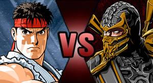 Death Battle - Ryu Vs Scorpion
