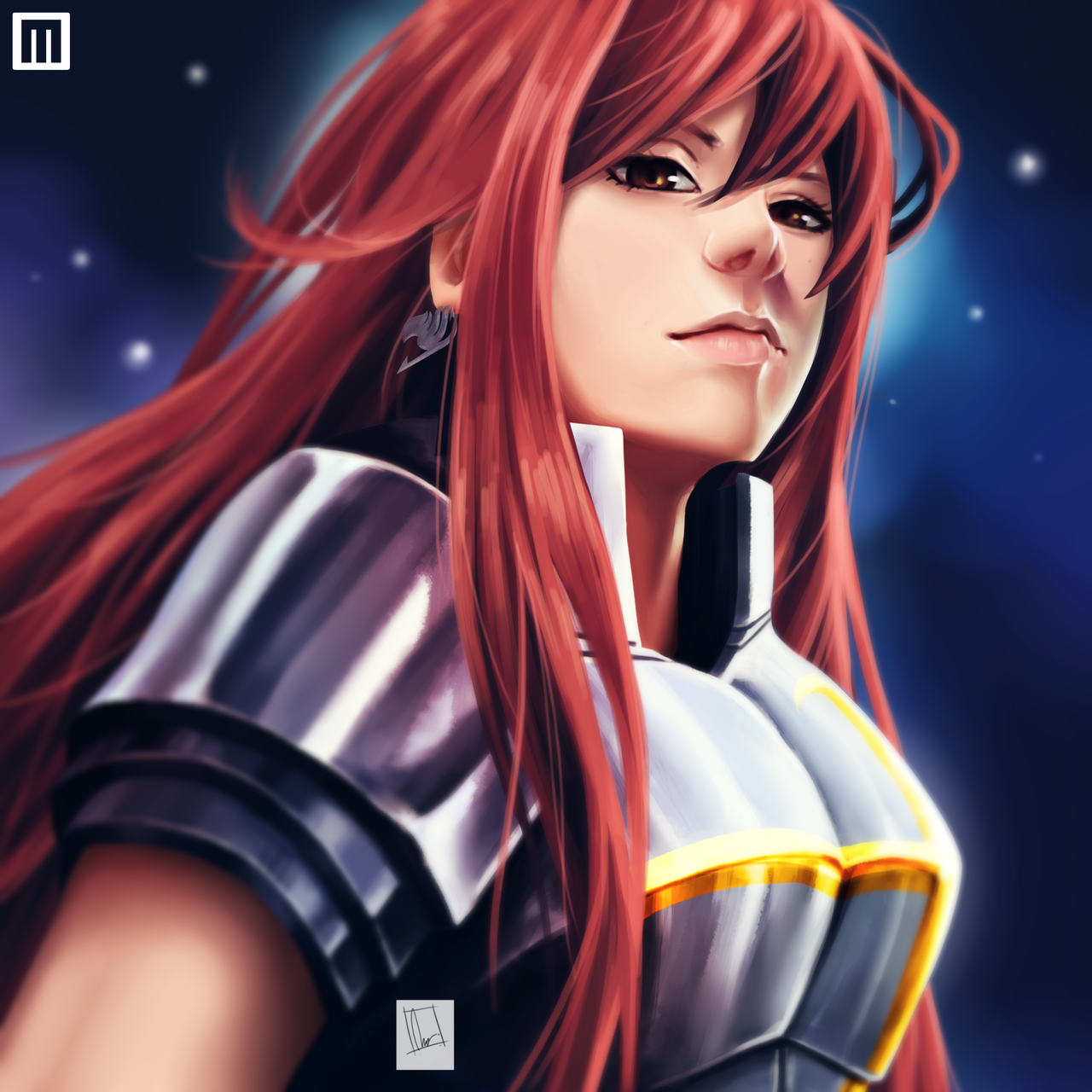Erza Scarlet Wallpaper