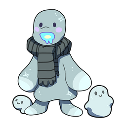 #146 Foolee - Abominable Snowbuddy: CLOSED by Toshiful
