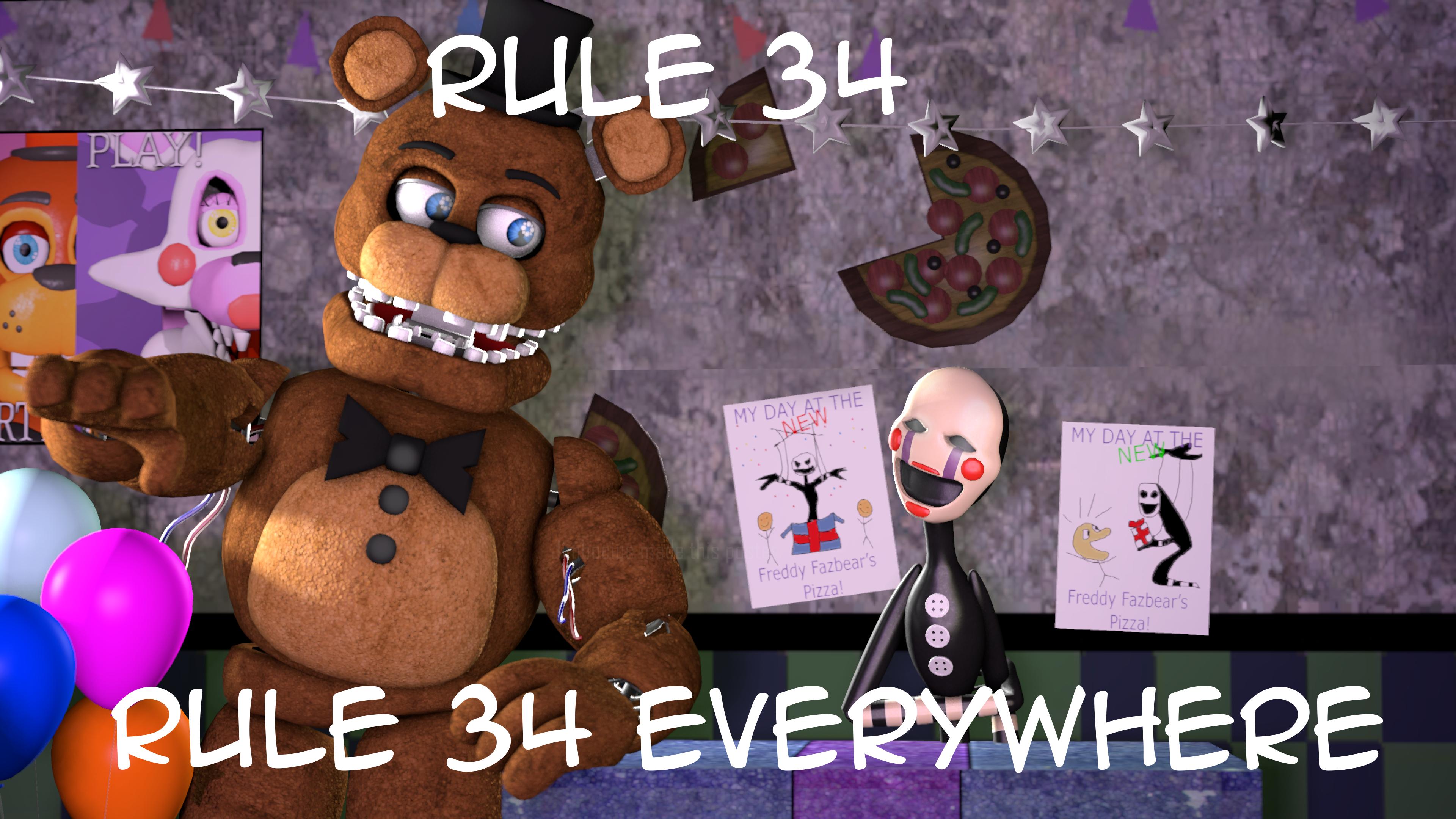 Rule 34 fnaf