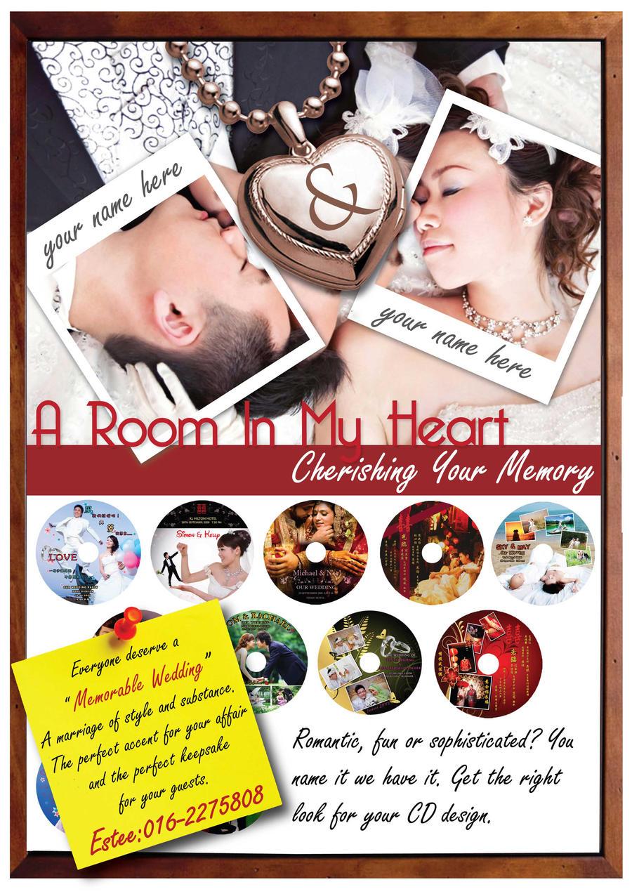 wedding flyer by vincentccw on DeviantArt