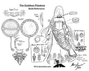 Palutena Build Reference Black and White