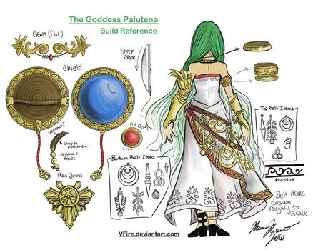 Palutena Build Reference Color