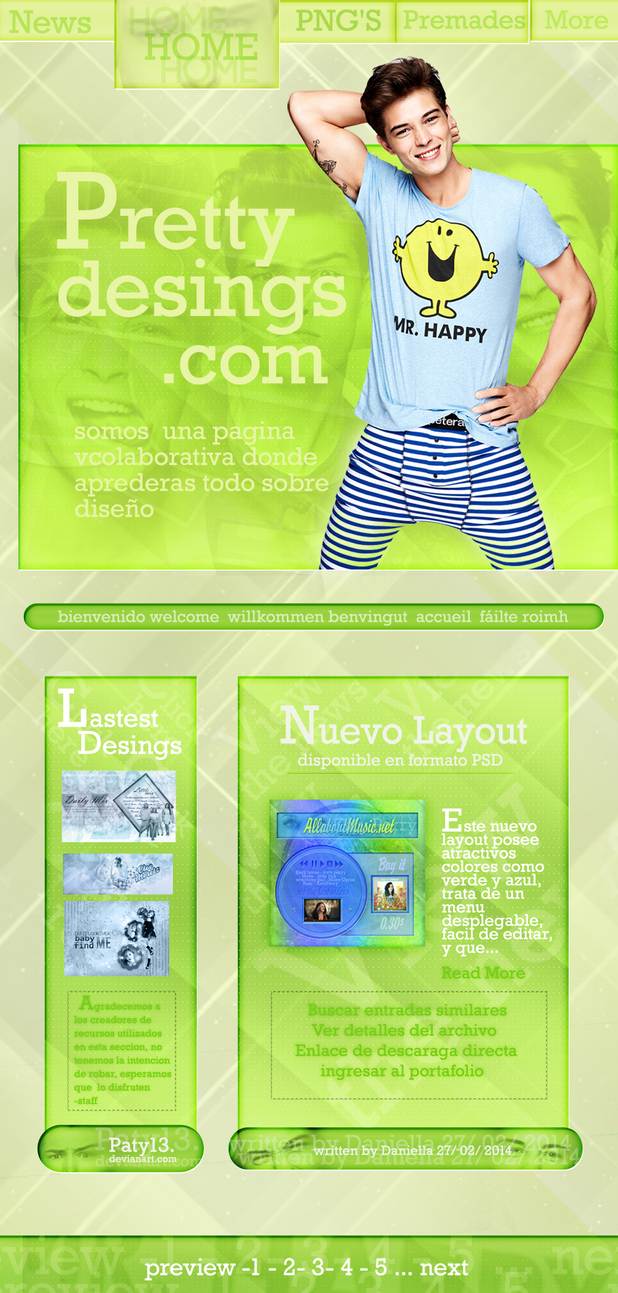 Layout Simple Green