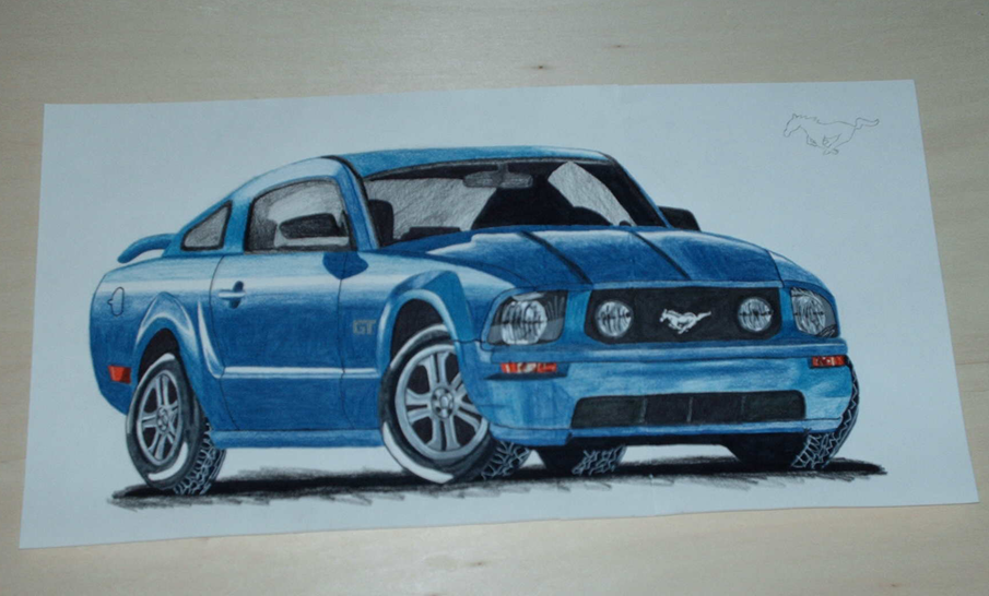 2005 Ford Mustang GT by PunkIn-Kitty