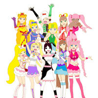 ToL: The Precures by angelthewingedcat