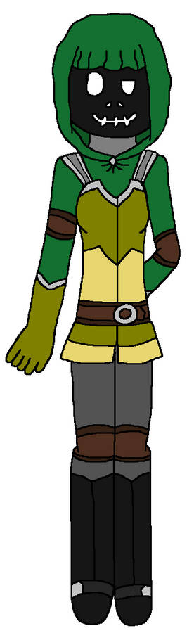 Updated Green Hood Outfit