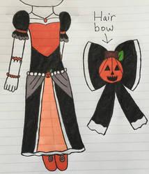 Random Halloween Dress for Marlin by angelthewingedcat