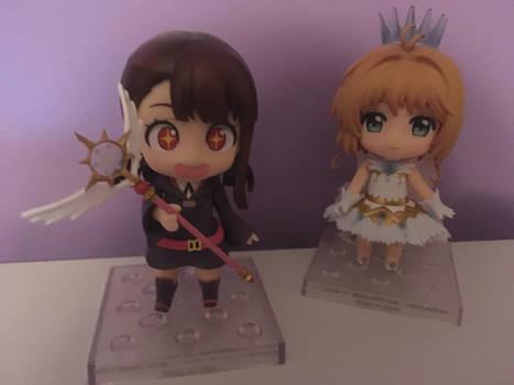 Akko with Sakura's Wand