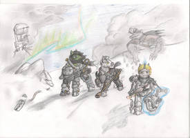 Fallout Equestria: Rangers of Wintertrot by AlexandrZaytsevet