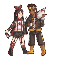 Emelie And Ace commission
