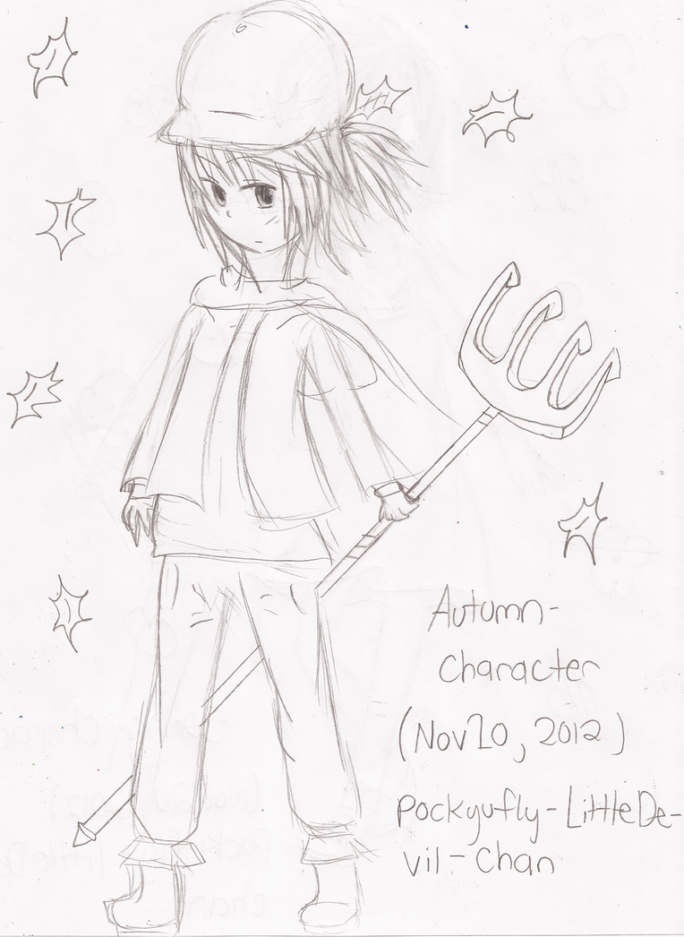 Jason Chan Character Design Download : Autumn character design littledevil chan by pockyufly on