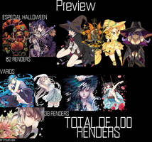 Pack renders by Etsuko-Eira
