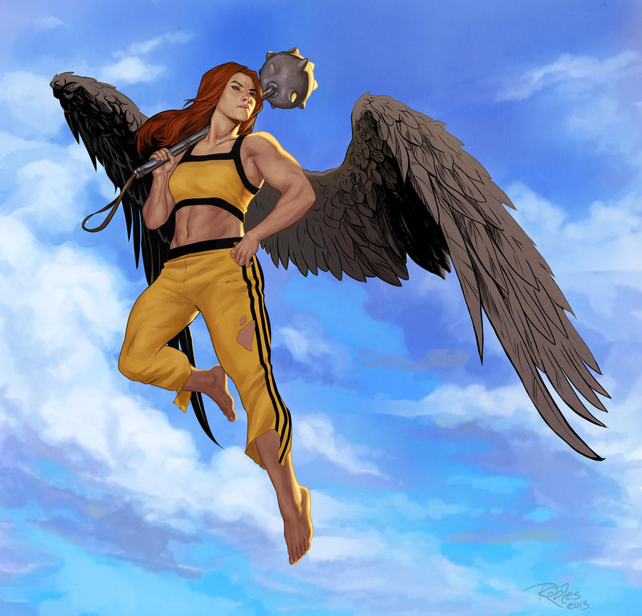 Hawkgirl: Shayera Hol By NickRoblesArt On DeviantArt