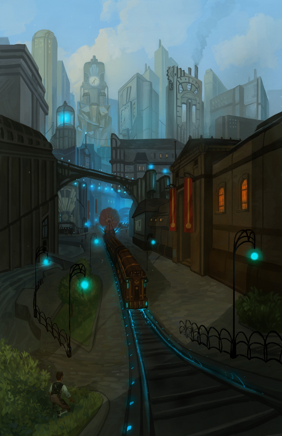 Clockwork Angels Issue1 Page18 by NickRoblesArt