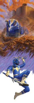 Power Rangers (Issues #3) by NickRoblesArt