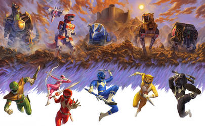 Mighty Morphing Power Rangers (Set!)