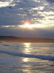 Whitby Sunset by Vhazza