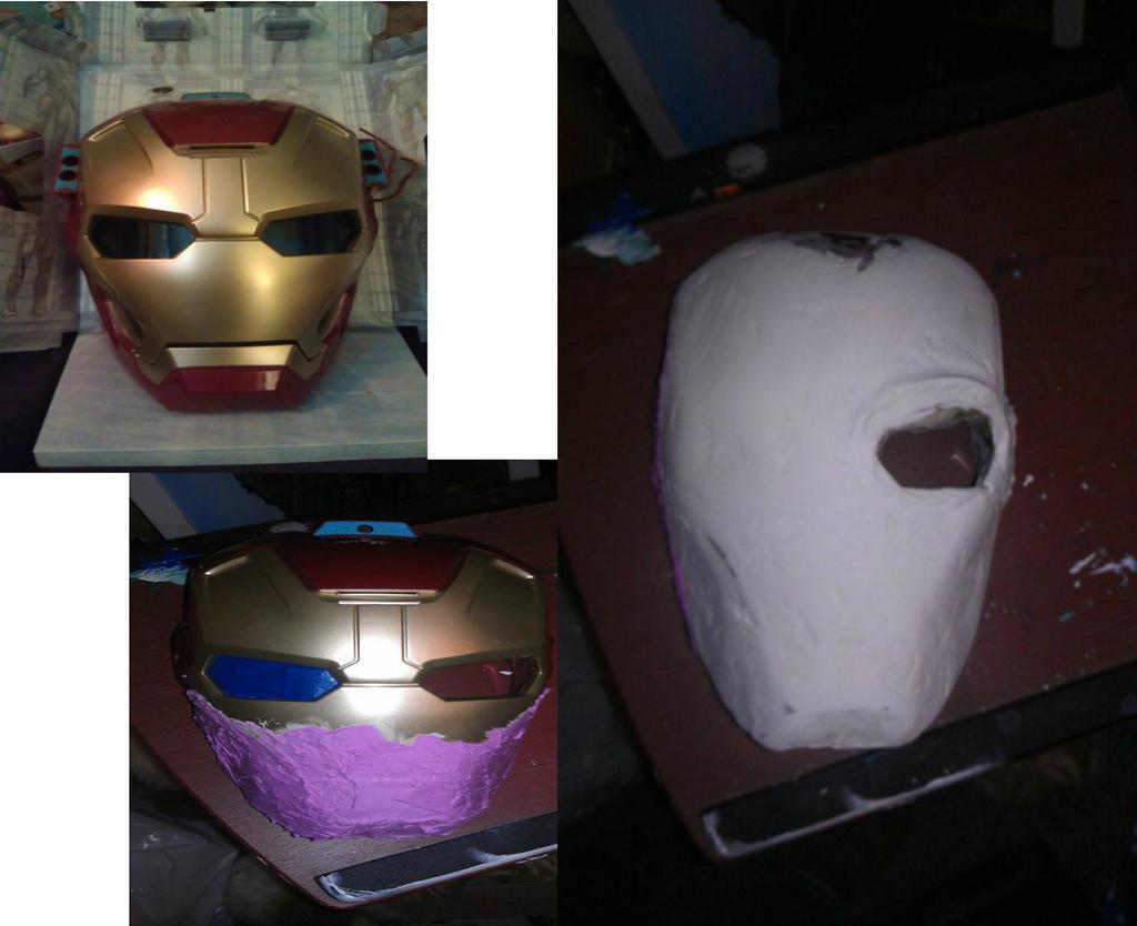 W.I.P deathstroke mask by gingerthe on DeviantArt