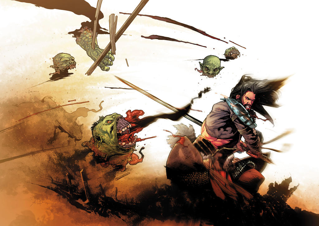 Birthright SDCC exclusive hardcover by andreibressan